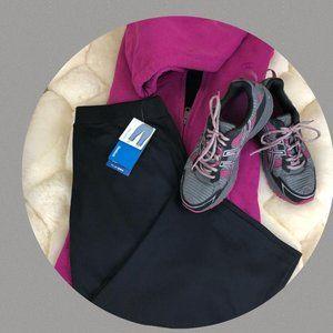 Reebok Workout Capri - Women's Medium Black